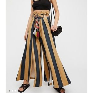Free People Marjorie wide leg pants size XS NWOT
